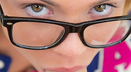 Book nerd Katerina Kay gets fucked before her glasses gets covered in sperm