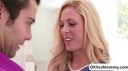 Sexy mature stepmom Cherie Deville seduces her stepdaughters boyfriend