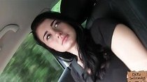 Gorgeous amateur needs a ride and reveals an incredible set of boobs
