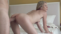 Hottie Tysen exposes ass and receives sweet anal from her boyfriend