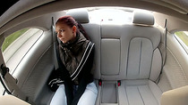 Teen Lea sucks and fucks for a free ride