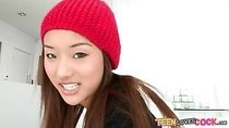 Asian teen Alina Li boned by monstercock