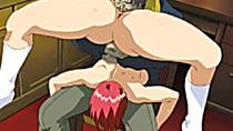 Redhead schoolgirl hentai sixty nine oralsex