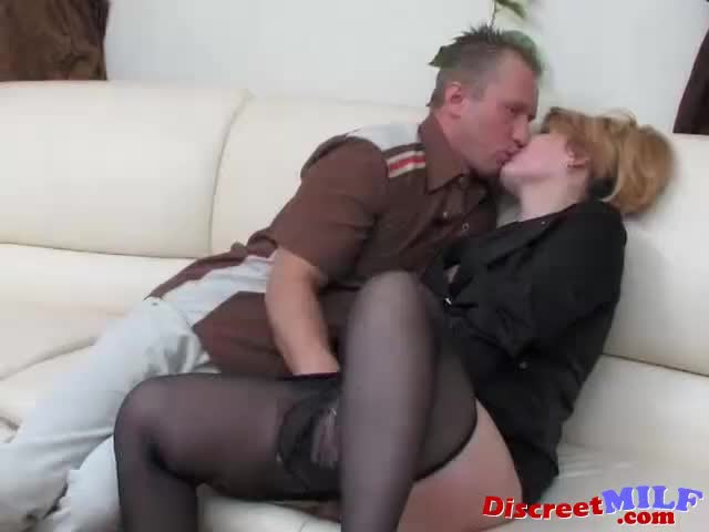 Fucked with dildo Mature