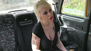 Tattooed amateur agrees to suck a cock and have sex for a free taxi fare