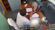 Horny doctors wife gets banged