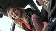 Czech slut Nishe drilled in the backseat