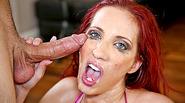 Dick addict slut Kelly Divine deepthroat