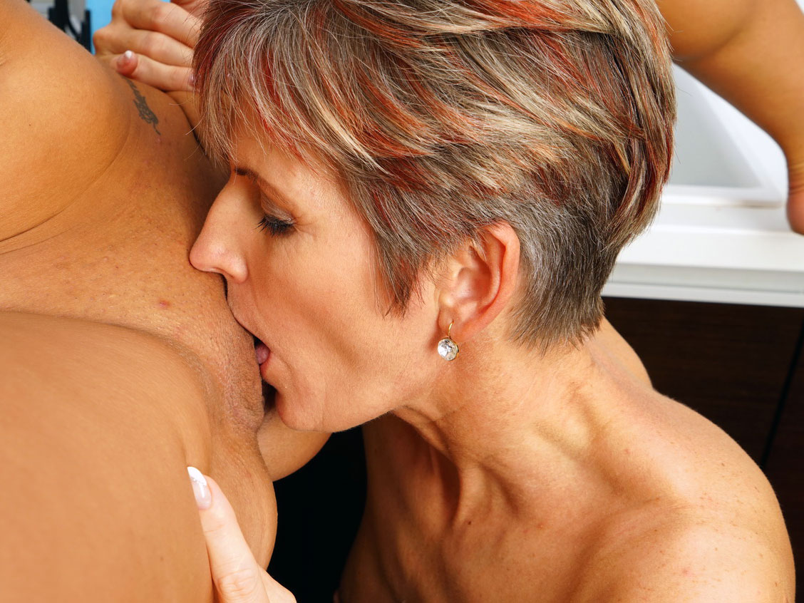 Mature Women Licking Pussy