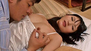 Yummy Japanese hottie Chizuru wakes up and fucks her stepbro