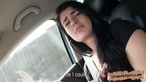 Nasty Anita B drilled in the backseat