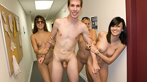 College girls ended up fucking with guys