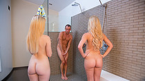 Lucy Tyler and Cherie Deville hot trio