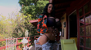 Super hot big tits Amy shows off her big booty and gets fucked hardcore