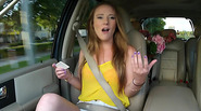 Busty teen Sam Summers Fucked on a highway by the guy who helped her on her find a place