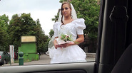 Gorgeous rejected bride Amirah Adara savors the strangers massive cock