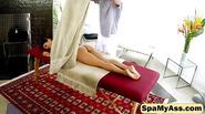 Stunning ass teen Sara Luvv is seduced by her hung masseur