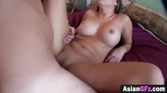 Sexy Asian girl love to fuck in doggy style