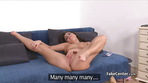 Babe got cock and dildo on casting